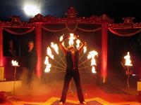 Fakir-Feuer-Show
