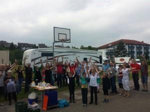 Circus Laluna, Zirkus an Grundschulen, Projektzirkus BW1