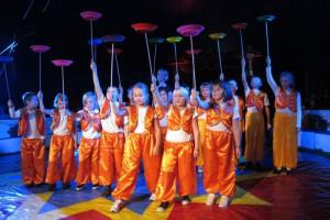 Zirkus für Schulkinder geeignet für Grundschulen ab 140 - 1000 Kinder